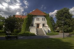 Castle in Szamotuly Stock Image