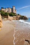 Castle of Tamarit, Tarragona Royalty Free Stock Images