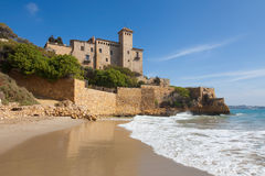 Castle of Tamarit Royalty Free Stock Photography