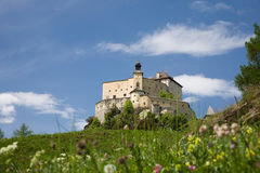 Castle of Tarasp royalty free stock photos