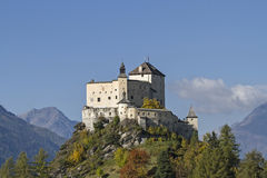 Castle Tarasp Royalty Free Stock Images