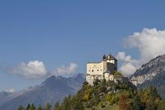 Castle Tarasp Stock Image