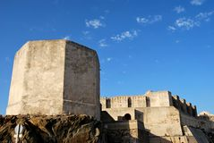 Castle of tarifa Royalty Free Stock Photography