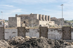 Castle of Tarifa Stock Images