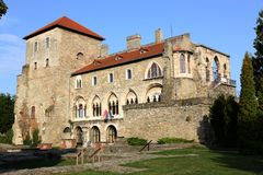 Castle Tata, Ουγγαρία Στοκ φωτογραφία με δικαίωμα ελεύθερης χρήσης