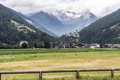 Castle Taufers in Campo Tures, Aurina Valley, Italy Royalty Free Stock Photo