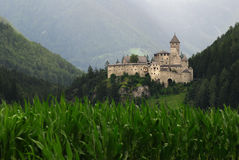 Castle Taufers in Campo Tures, Valle Aurina. Stock Images