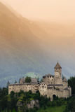 Castle Taufers in Campo Tures, Valle Aurina. Royalty Free Stock Images