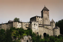 Castle Taufers in Campo Tures, Valle Aurina. Stock Photo