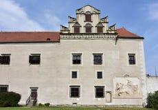 Castle Telc,Czech republic Stock Photos
