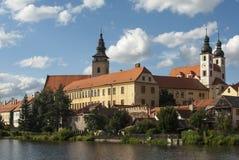 Castle telc czech republic europe Stock Photos