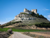 Castle Telez Giron, Valladolid, Castilla y Leon, Spain Stock Photography
