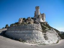 Castle Telez Giron, Valladolid, Castilla y Leon, Spain stock photo