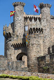 Castle of the Templars Royalty Free Stock Photo