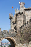 Castle of the Templars Stock Image