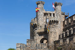 Castle of the Templars Royalty Free Stock Image