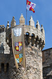 Castle of the Templars Royalty Free Stock Images