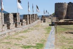 Castle of the Templars Stock Photos