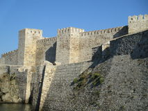 Castle of Tenedos Royalty Free Stock Photography