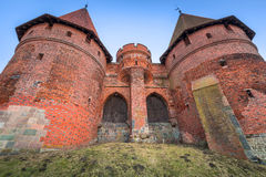The Castle of the Teutonic Order in Malbork Stock Photography