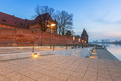 The Castle of the Teutonic Order in Malbork Royalty Free Stock Image