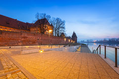 The Castle of the Teutonic Order in Malbork Stock Photos