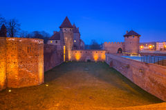 The Castle of the Teutonic Order in Malbork Royalty Free Stock Photography