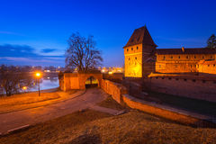 The Castle of the Teutonic Order in Malbork Royalty Free Stock Photos