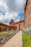 The Castle of the Teutonic Order in Malbork Stock Images
