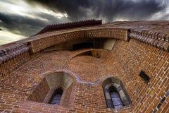 Castle of the Teutonic Order in Malbork, Pomerania, Poland