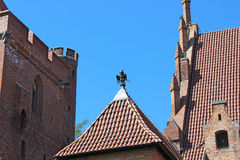 The Castle of the Teutonic Order in Malbork. Poland Stock Images