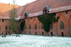 Castle of the Teutonic Order in Malbork Royalty Free Stock Images