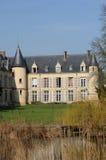 The castle of Themericourt Stock Image
