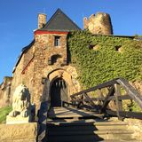 Castle Thorens near Koblenz Germany Royalty Free Stock Photography