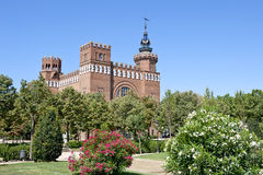 Castle of the Three Dragons. In the Citadel Park in Barcelona, Spain Stock Photos
