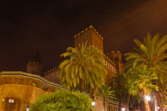 Castle of the Three Dragons, Barcelona Stock Photography
