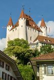 Castle of Thun royalty free stock images