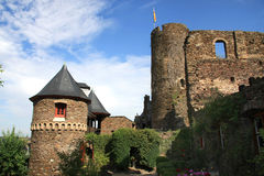 Castle Thurandt, Germany Royalty Free Stock Photo