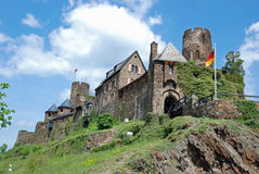 Castle Thurant, Mosel valley, Eifel, Germany Royalty Free Stock Photo