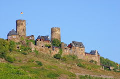 Castle Thurant On The Moselle Stock Images