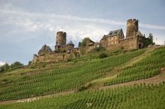 Castle Thurant in Rhineland, G. Ancient castle Thurant in Rhineland, Germany stock photos
