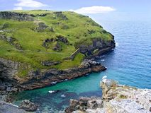 Castle Tintagel. Stock Photography