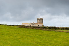 Castle in Tintagel Royalty Free Stock Photos