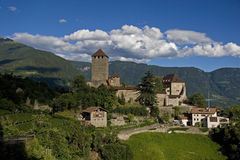 Castle Tirol. Ancestral castle of the Counts of Tyrol Royalty Free Stock Photography