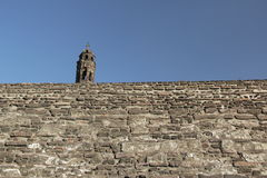 Castle of Tlatelolco. Stock Images