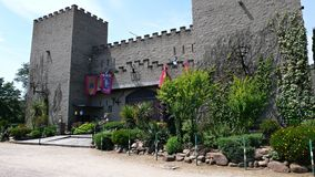 Castle of Todera-Barcelona Stock Image