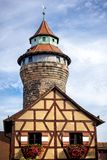 Nuremberg, Sinnwell Tower, Nuremberg Castle, Franconia, Germany royalty free stock image