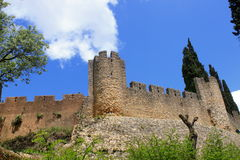 Castle of Tomar Royalty Free Stock Photo