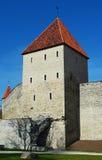 Castle Toompea in Tallinn, Estonia.  Royalty Free Stock Images