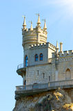 Castle on top Royalty Free Stock Image